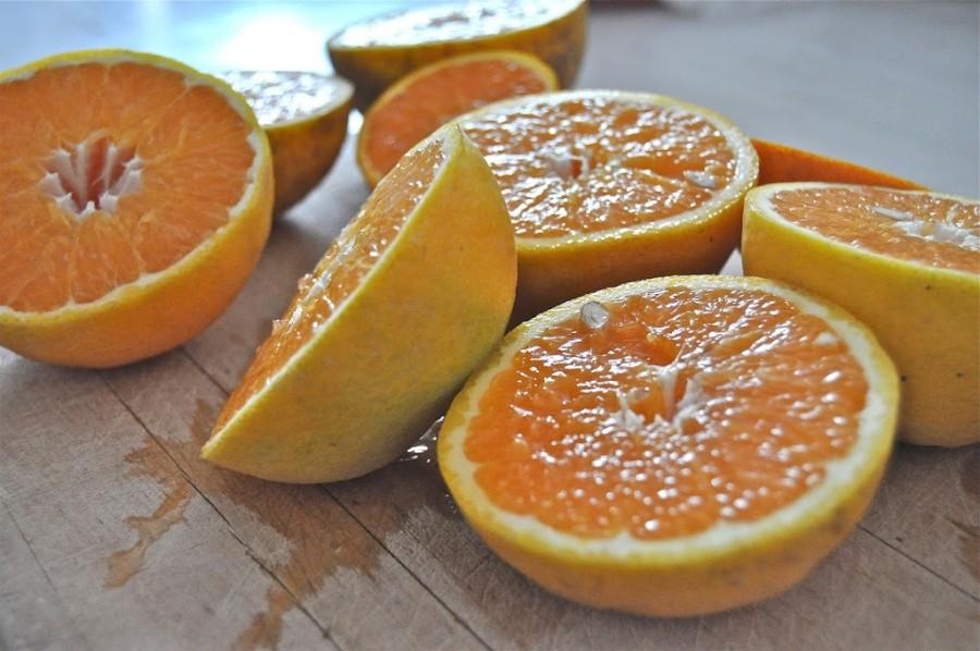 Campari-Orange Winter Cocktail