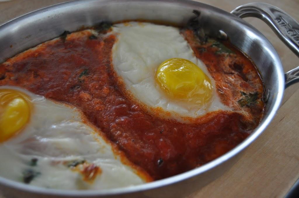 Eggs in Tomato Sauce | DrizzleKitchen