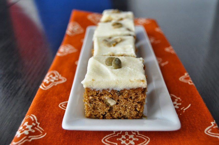 Seeded Pumpkin Bars