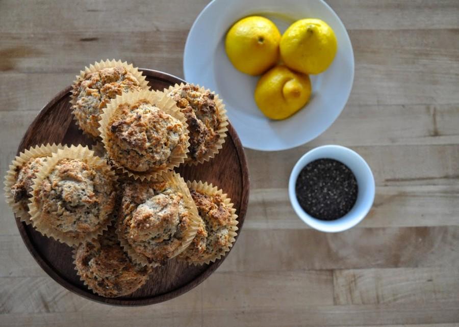 Citrus-Chia Muffins