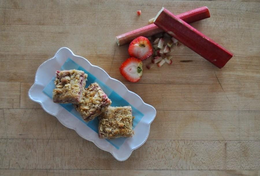 Strawberry-Rhubarb Bars