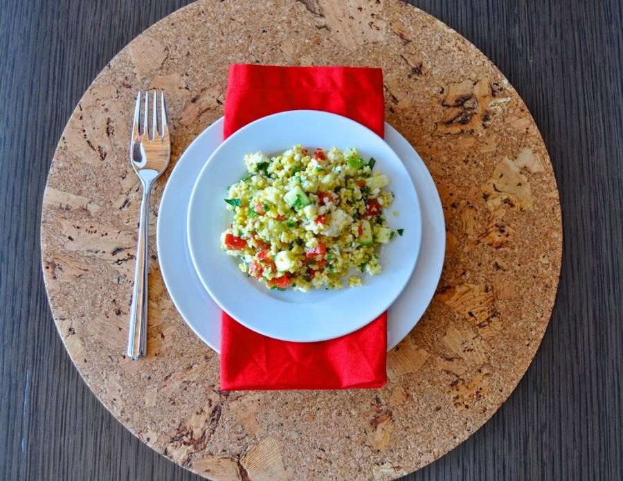 Zucchini and Lime Millet Summer Salad