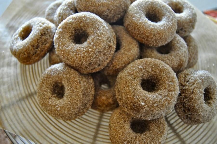 Cinnamon Cider Baby Doughnuts