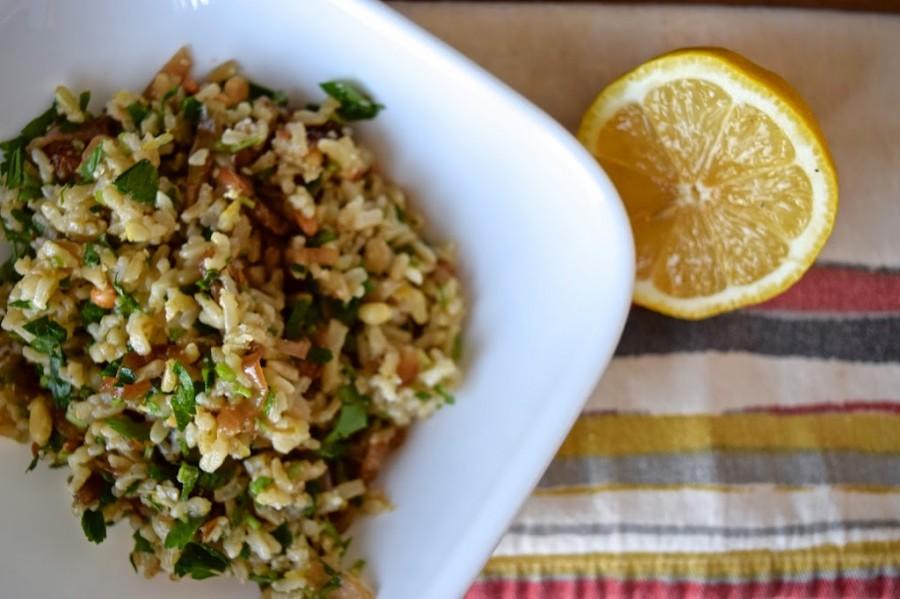 Springtime Rice Pilaf