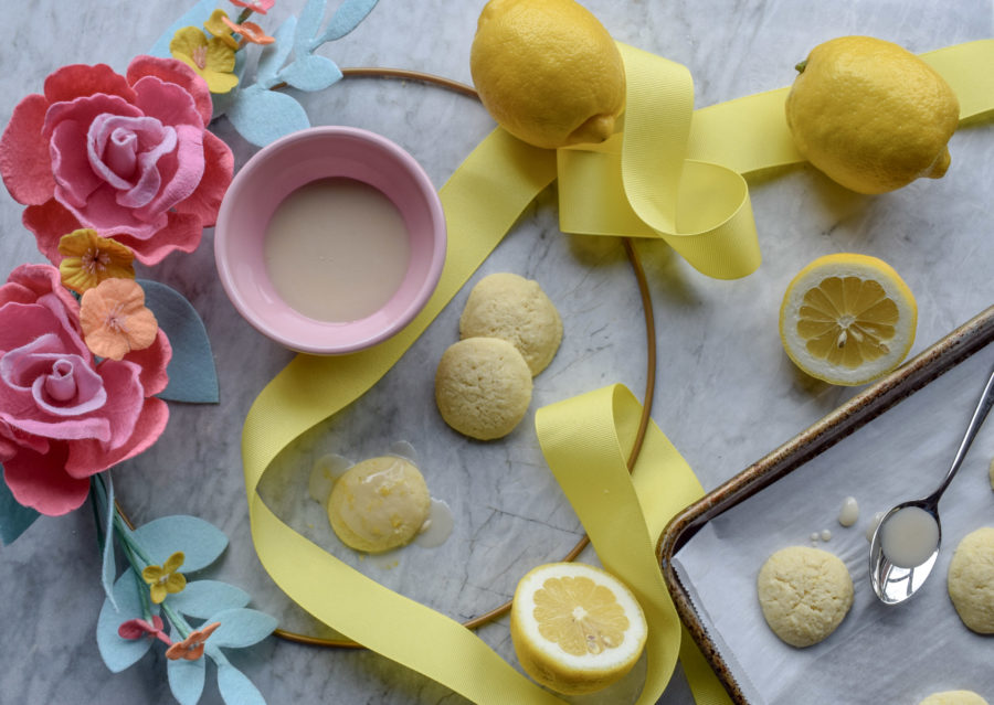 Soft Lemon Buttons