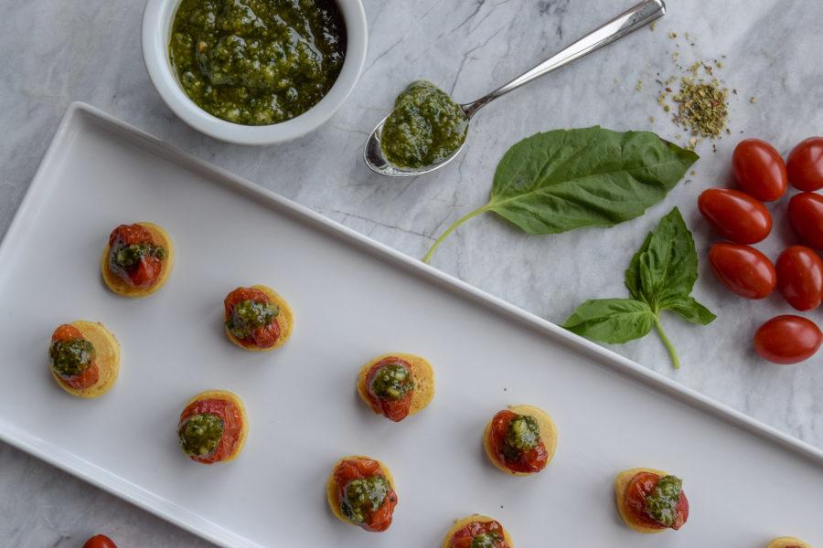 Italian Chickpea Bites