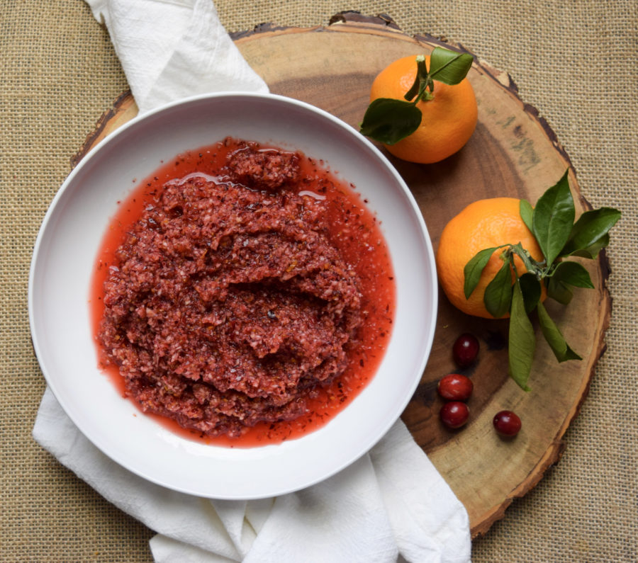 Clementine-Cranberry Sauce