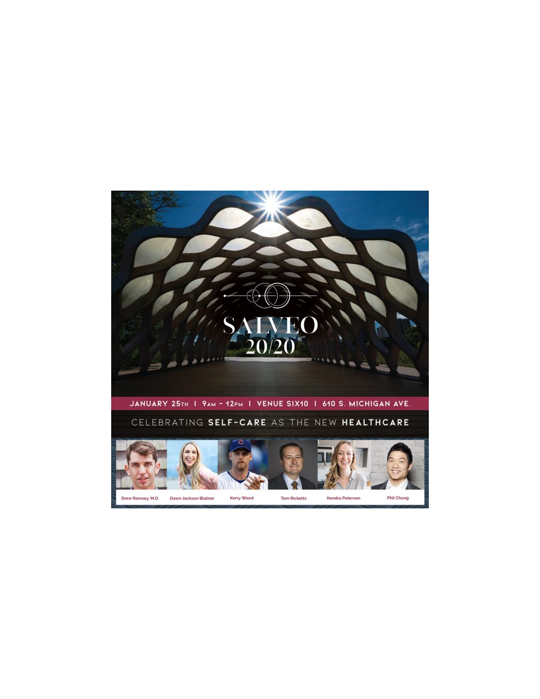 Salveo 2020 Wellness Event!