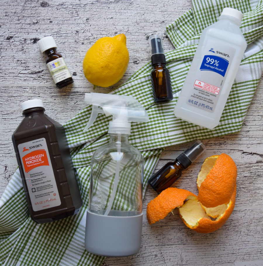 Homemade Sanitizing Spray (it's easier than you think)