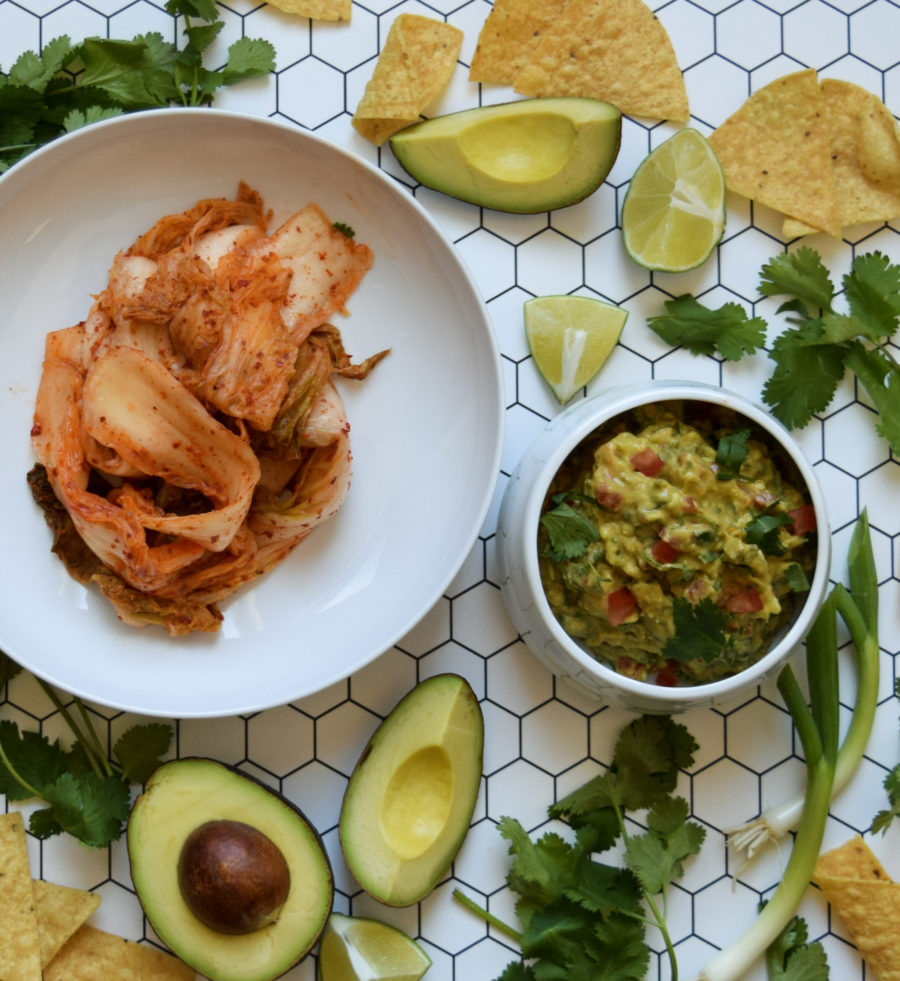 Quarantine Kitchen Series: Kimchi Guacamole