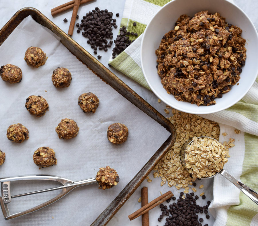 Quarantine Kitchen Series: Banana Chocolate No Bake Cookies