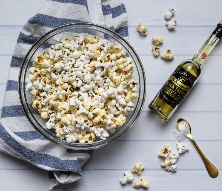 Quarantine Kitchen Series: How to Make Truffle Popcorn!