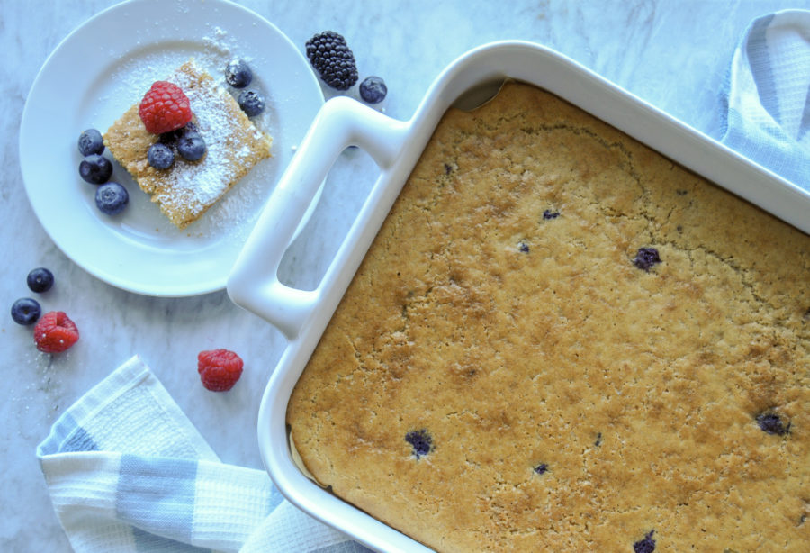 Quarantine Kitchen: Berry Pan-Cake